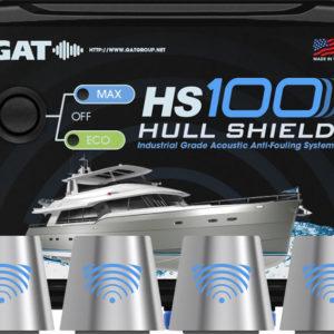 Hull Shield HS10 Ultrasonic Boat Hull Bottom Antifouling System for Hulls